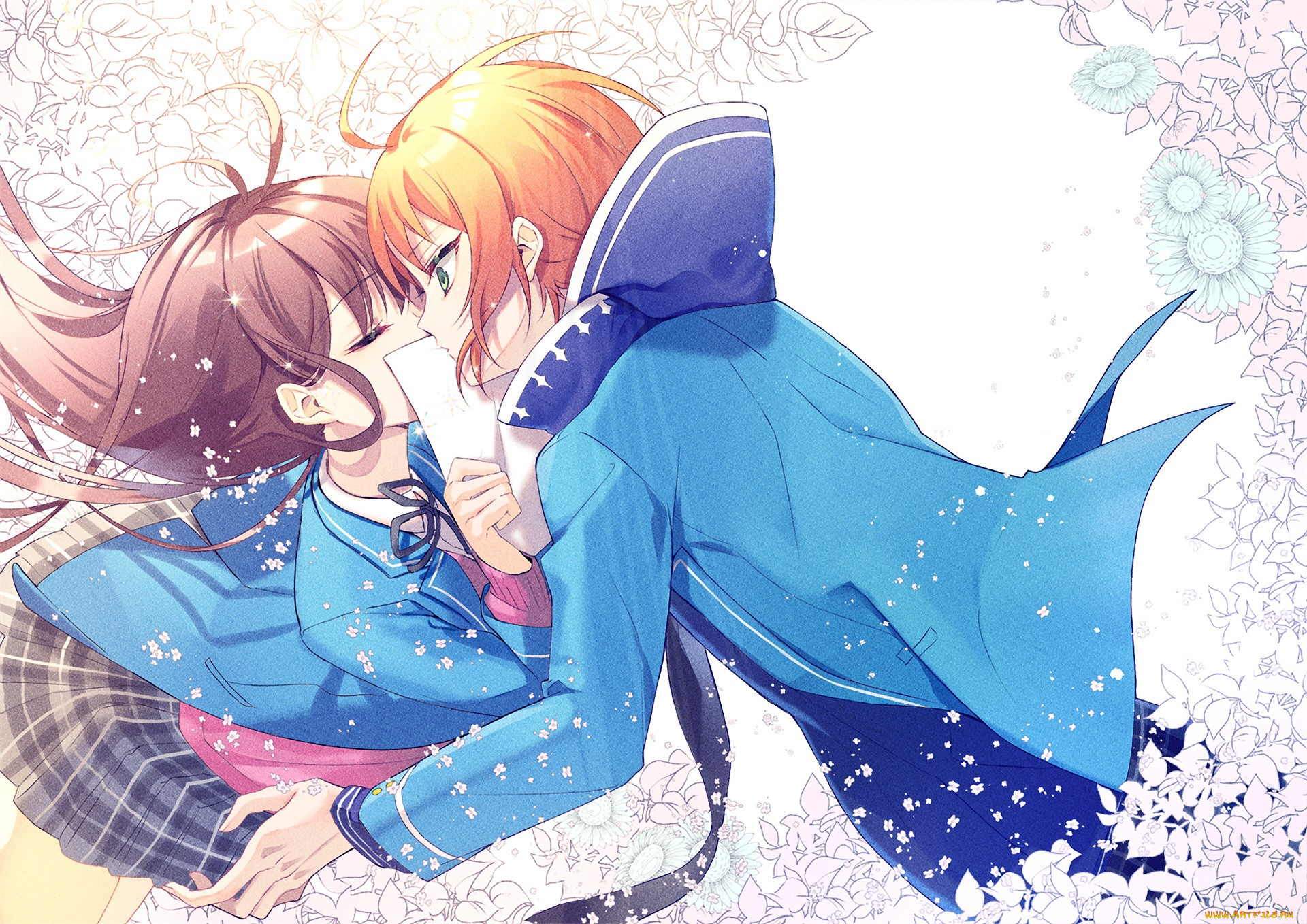 аниме, ensemble stars, романтика